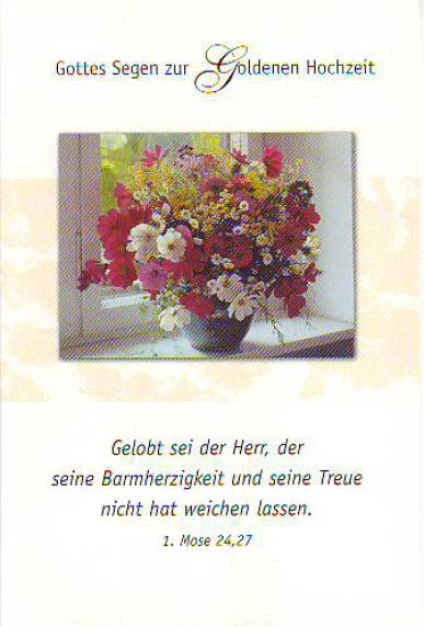 Epv Shop Doppelkarte Goldene Hochzeit
